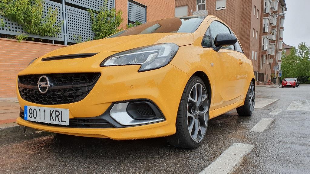 Opel Corsa GSI, chispa 46
