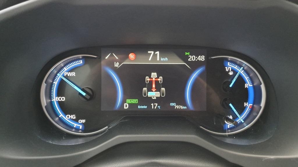 Toyota RAV4 2019, confiado 39
