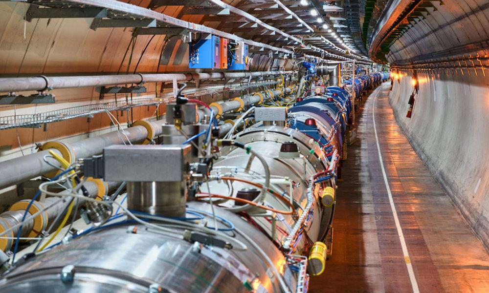 El CERN de Suiza