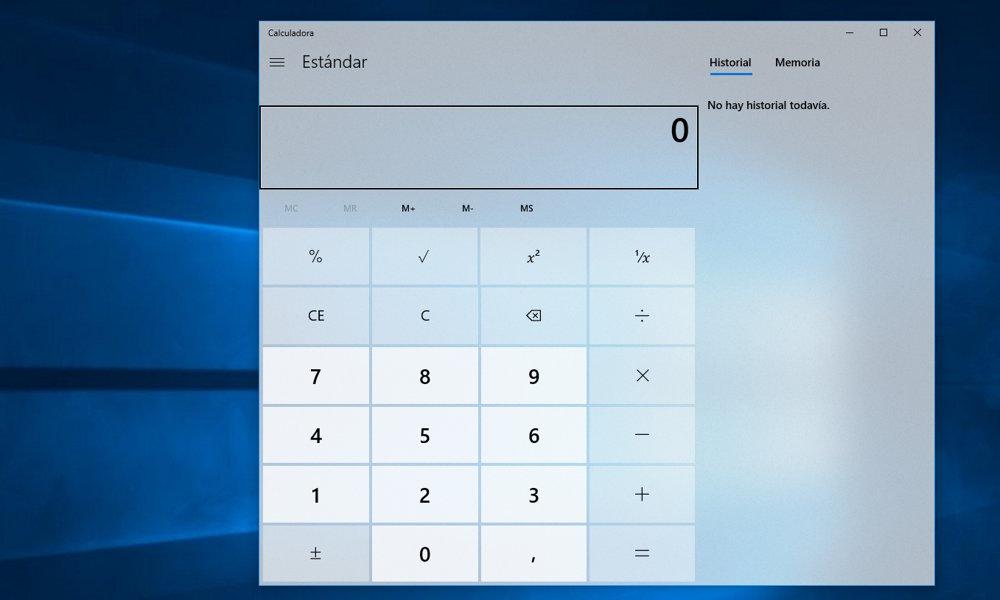 Calculadora de Windows