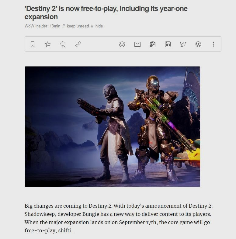 Destiny 2 será gratuito y nos llevará a la Luna en su próxima expansión 34