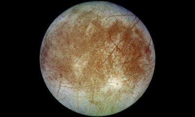 Europa, una de las lunas de Júpiter, tiene grandes cantidades de sal común 45