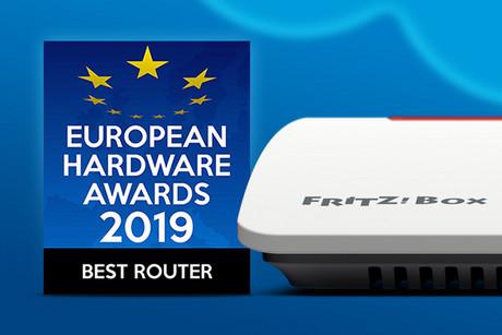 El FRITZ!Box 7590 consigue el European Hardware Award 32