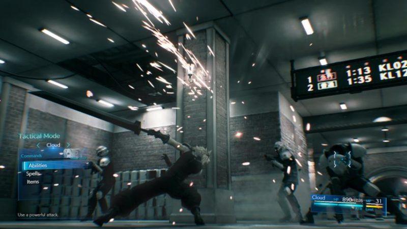 Final Fantasy VII Remake Tactical Mode