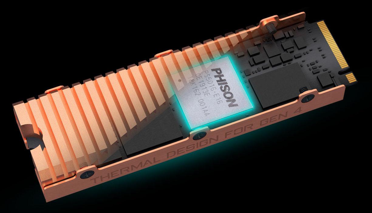 GIGABYTE AORUS NVMe, una SSD PCIe 4 con velocidades de vértigo 32