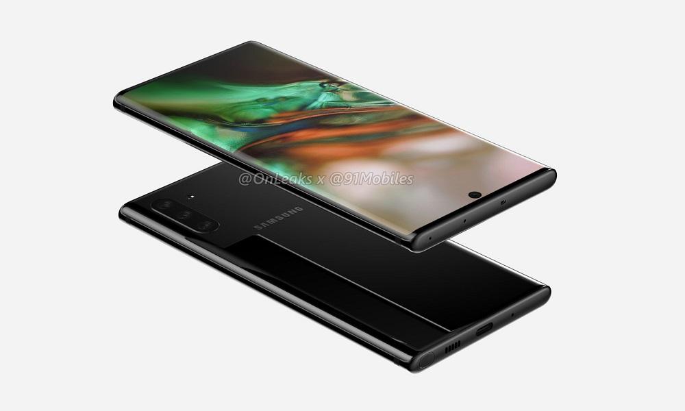 El Galaxy Note 10 muestra un profundo rediseño en nuevos renders 29