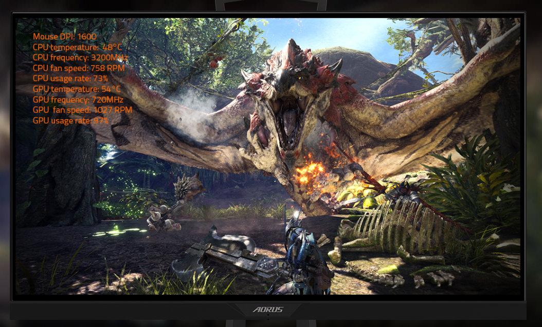 Gigabyte presenta el monitor para juegos AORUS KD25F 38