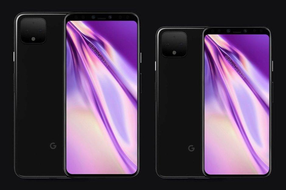 El diseño del Google Pixel 4 ha cambiado para acercarse al iPhone XI 33