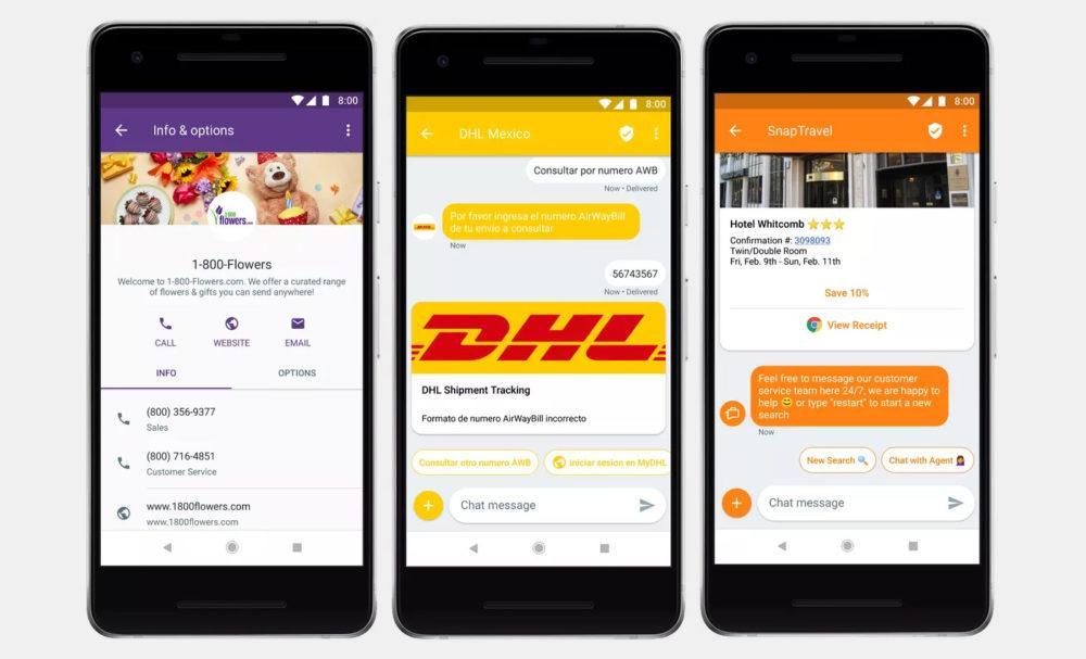 Google lanzará su propia mensajería para competir con WhatsApp y Telegram