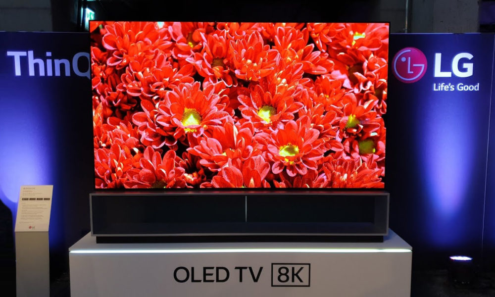 LG 88Z9 OLED TV 8K