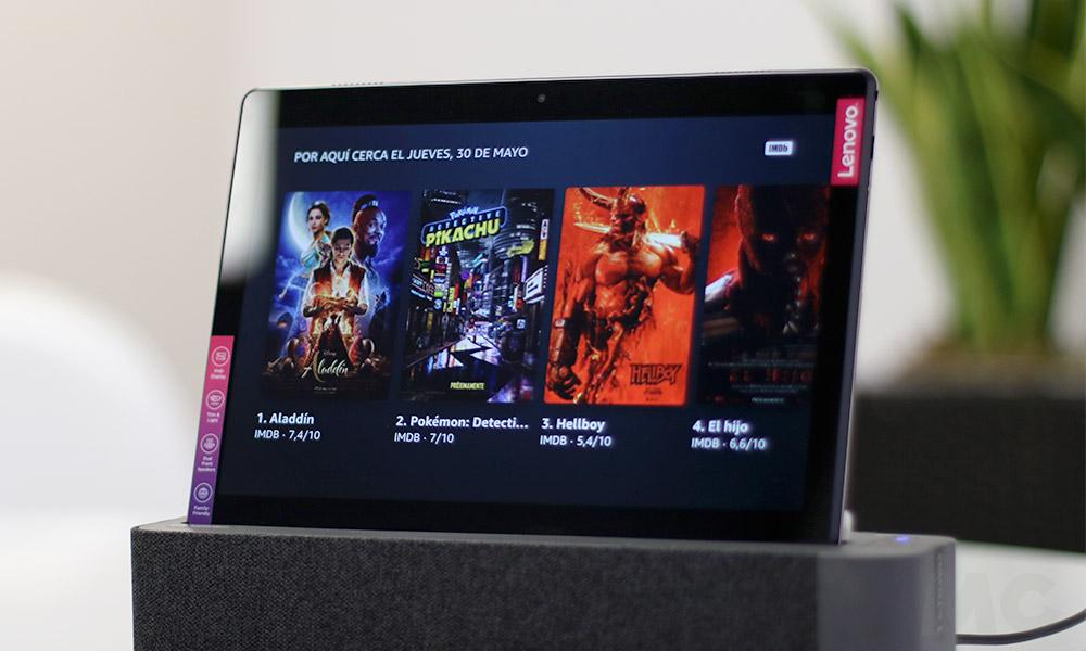 Lenovo Smart Tab M10: Tableta y pantalla inteligente con Alexa 40