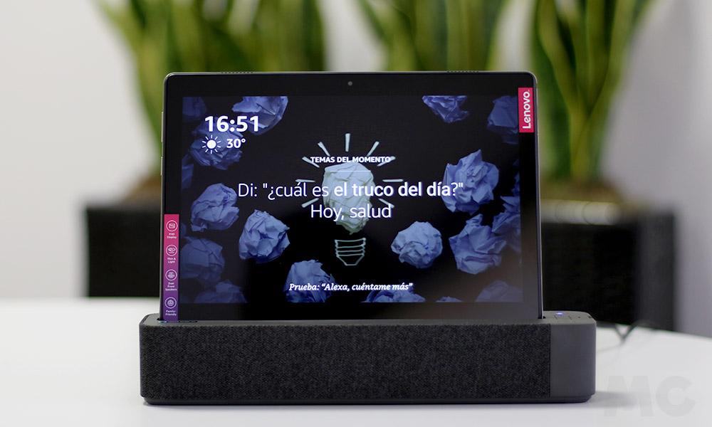 Lenovo Smart Tab M10: Tableta y pantalla inteligente con Alexa 42