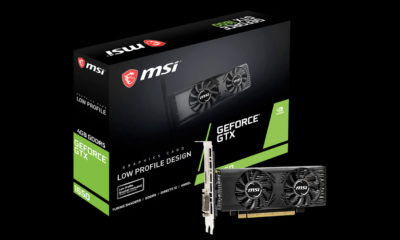 MSI GeForce GTX 1650 perfil bajo