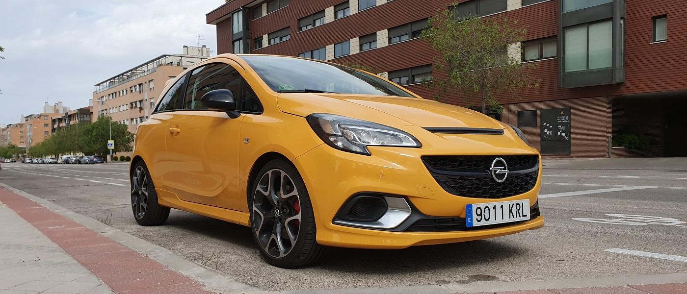 Opel Corsa GSI, chispa 28