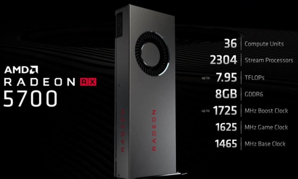 La Radeon RX 5700 supera a la GeForce RTX 2060 32