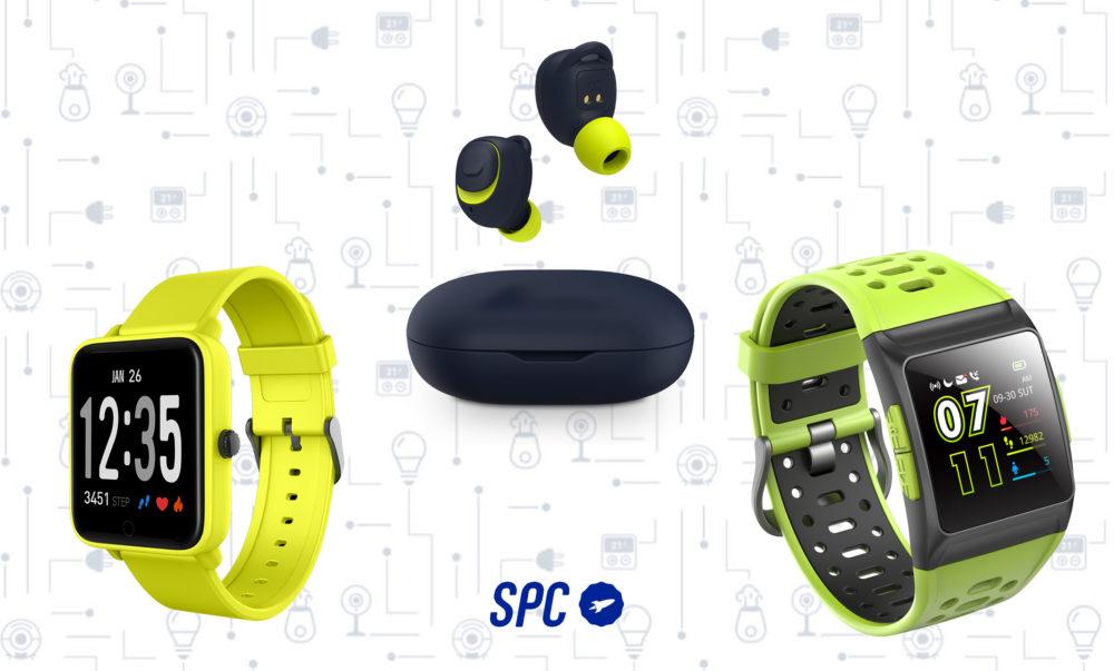 SPC Sistemas de audio y smartwatches