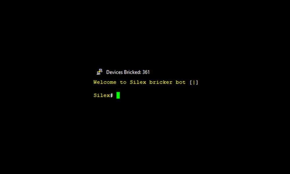 Silex Malware IoT