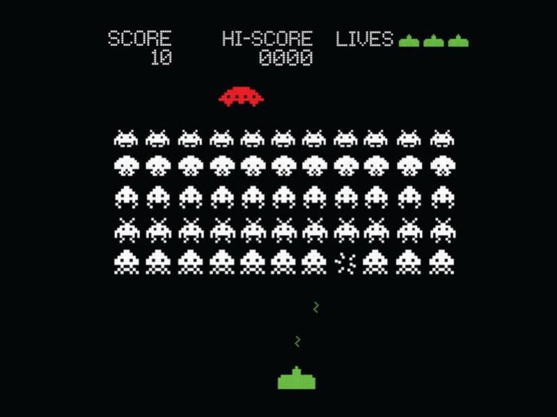 Space Invaders Videojuegos Violentos