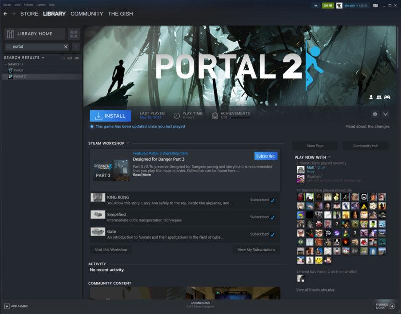 Steam Página Juegos