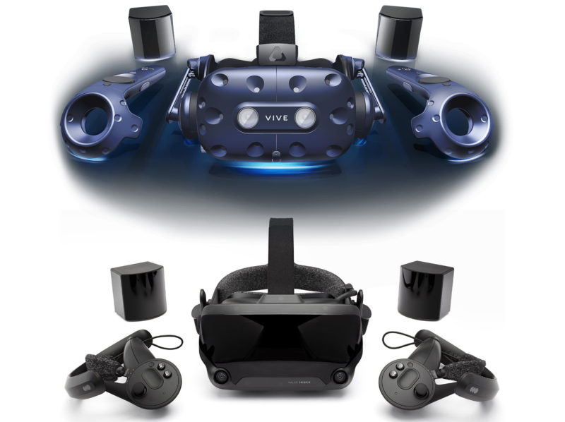 Valve Index vs HTC Vive Pro