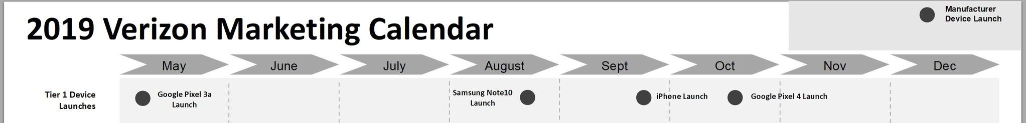 Verizon filtra la fecha de lanzamiento del iPhone 11, Note 10 y Pixel 4 29