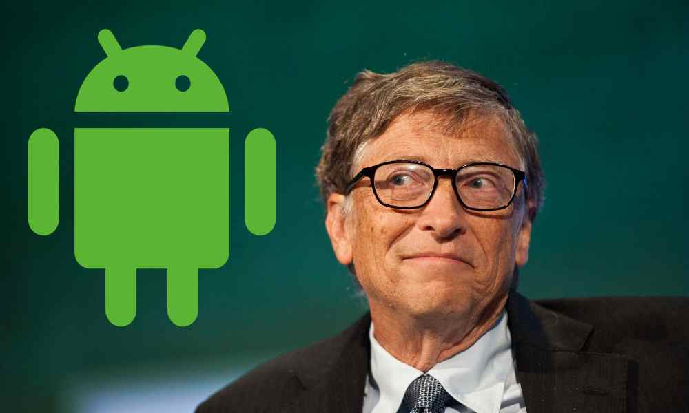 Bill Gates: mi mayor error es que Microsoft no fuera Android