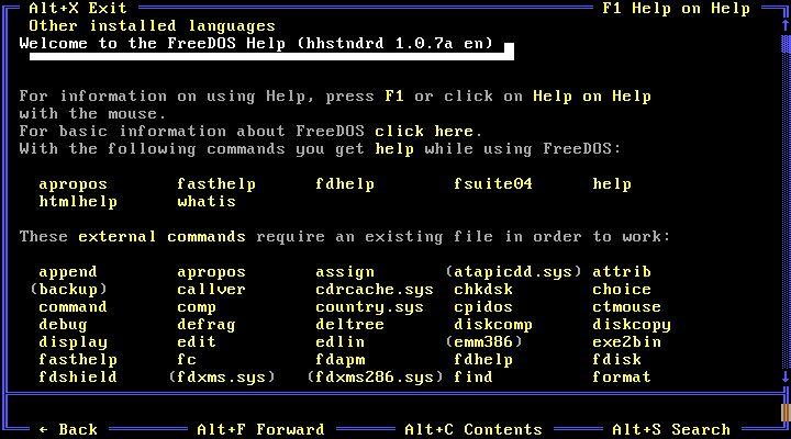 25 años de FreeDOS, el sistema operativo que desafió a Microsoft 32