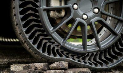 Michelin Uptis, el neúmatico sin aire y que no se pincha que se venderá en 2024 128