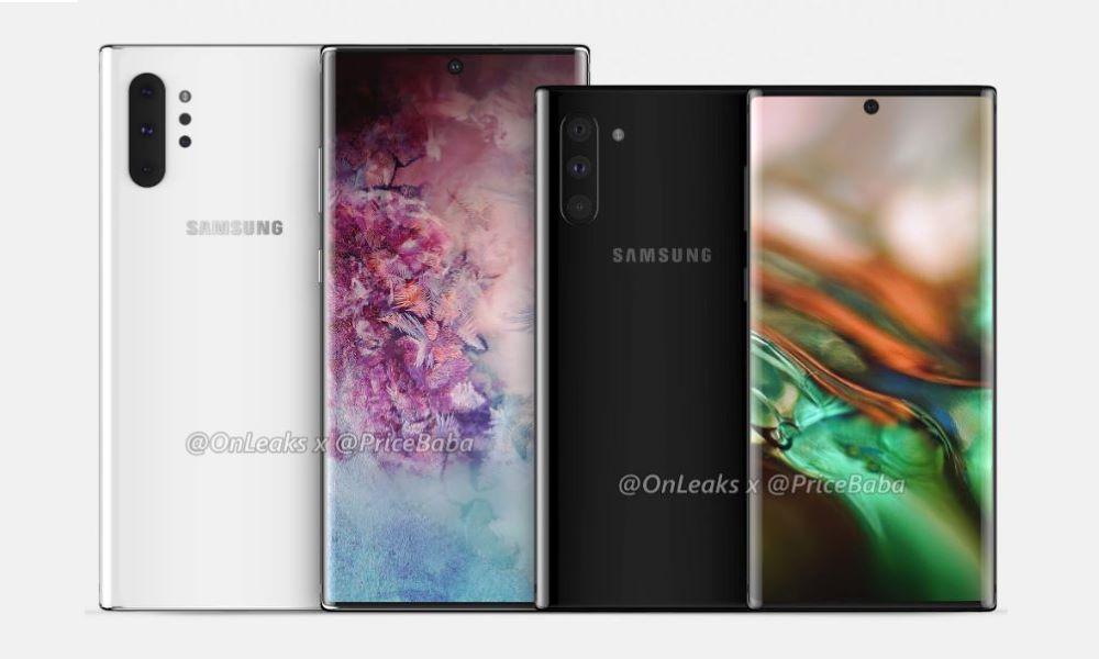 Una nueva filtración confirma el diseño del Samsung Galaxy Note 10 32