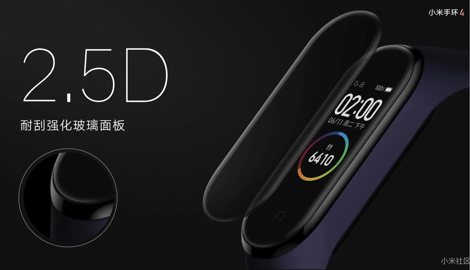 Xiaomi Mi SmartBand 4, más pantalla y más color 33