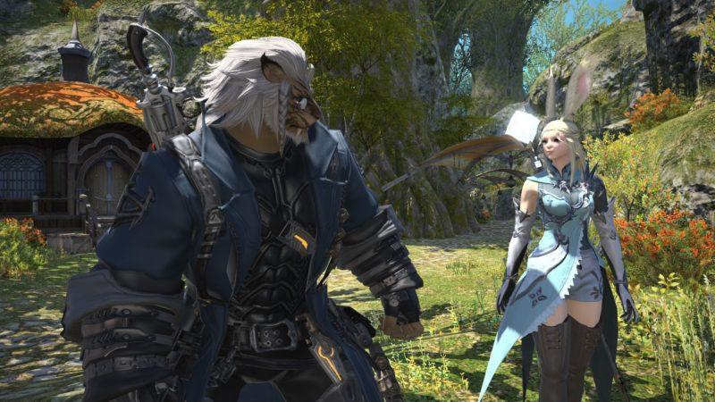 Final Fantasy XIV Shadowbringers nuevas razas