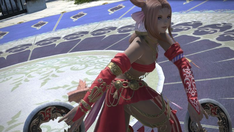 Final Fantasy XIV Shadowbringers Dancer