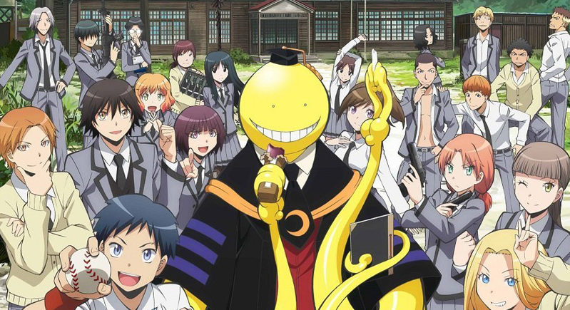 Assassination Classroom Anime Netflix