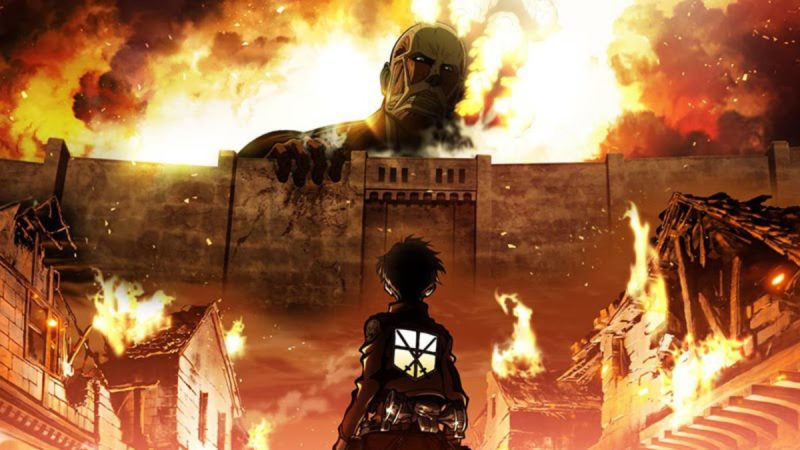 Attack on titan Anime Netflix