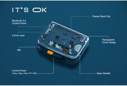 Características básicas del reproductor de casetes It's OK