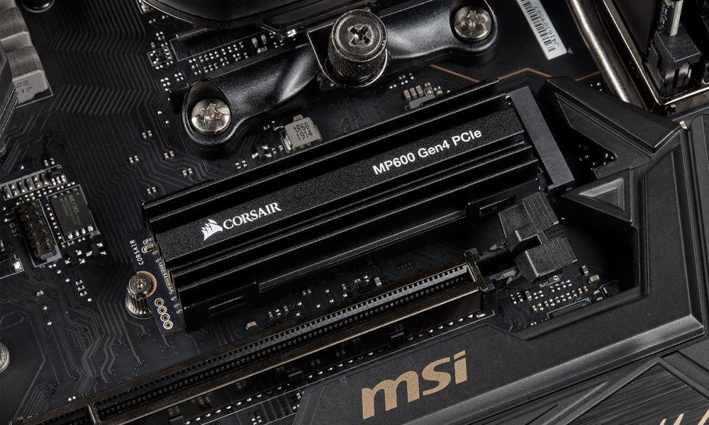 Corsair lanza los SSDs NVME MP600 compatibles con PCIE Gen 4 28