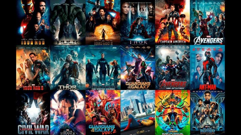 Disney+ Películas Marvel