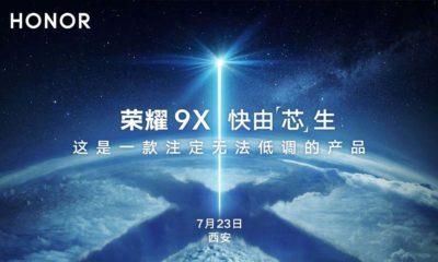 Honor 9X Presentación