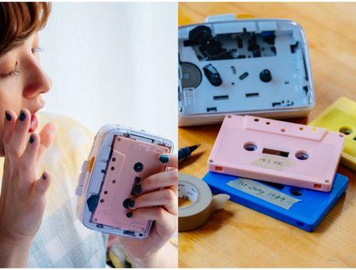 Imágenes del reproductor de casetes It's OK