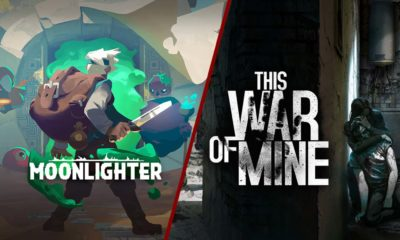Juegos gratis Epic Games Store Moonlighter This war of mine