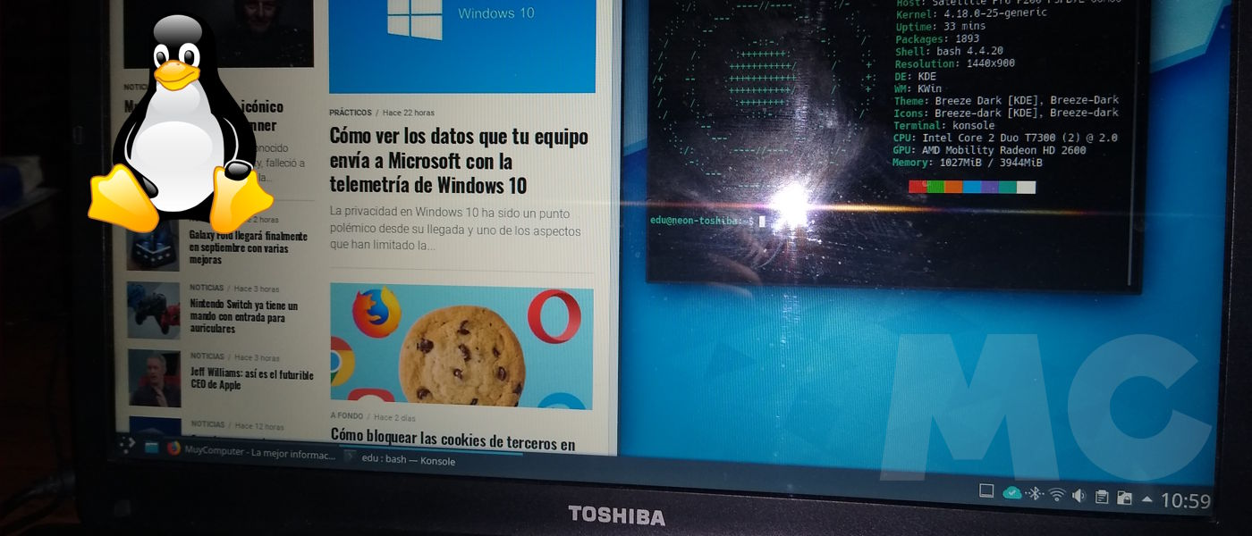 Linux para portátiles antiguos