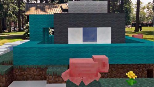 Minecraft Earth Realidad Aumentada