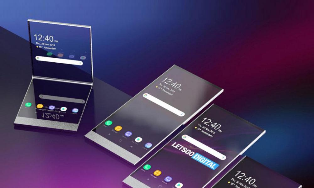 Sony patenta su primer smartphone plegable 40