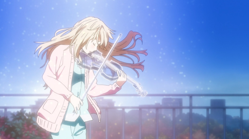Your lie in april Anime Netflix