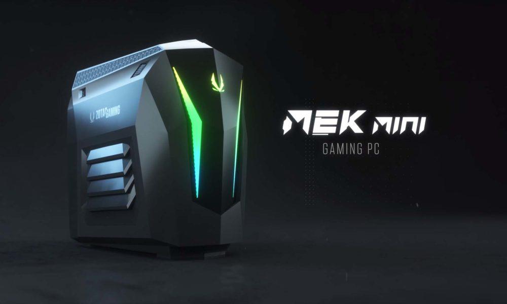 Zotac MEK Mini Compacto Gaming RTX Super