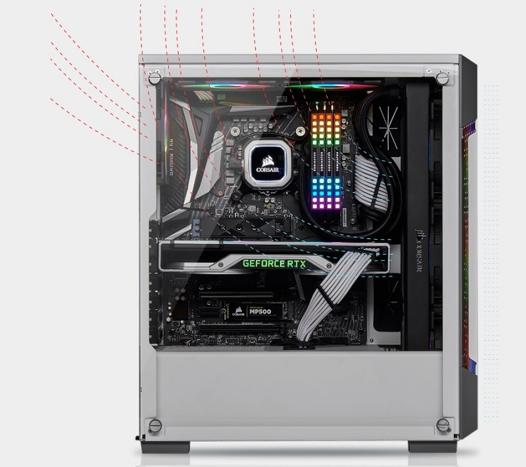Corsair lanza el chasis inteligente iCUE 220T RGB y los ventiladores iCUE SP120 RGB PRO 30