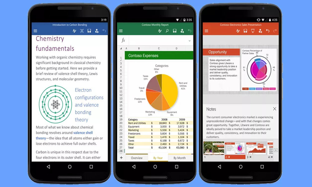 apps móviles Microsoft