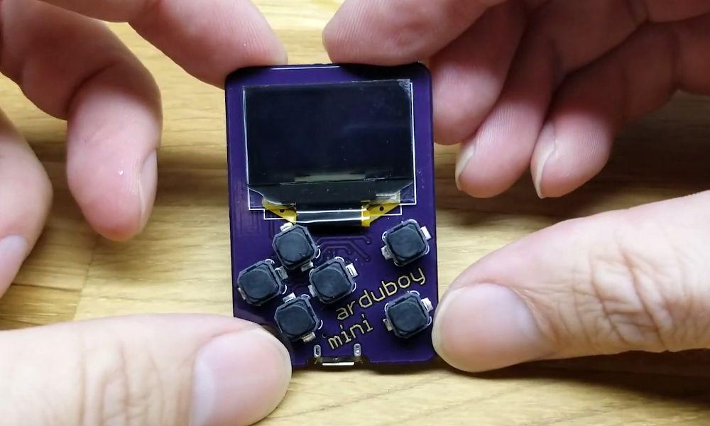 consola portátil Arduboy Mini