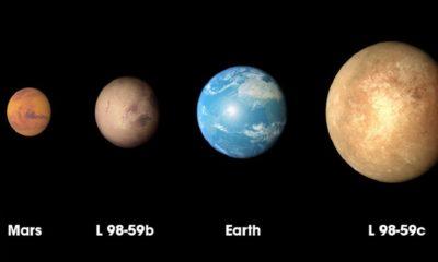 TESS ha descubierto un exoplaneta más pequeño que la Tierra 48