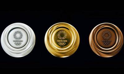Las medallas de Tokio 2020 estrenan diseño y presumen de esencia tecnológica 47